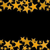 Gold Star Background — Stock Photo