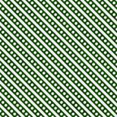 Hunter Green and White Small Polka Dots and Stripes Pattern Repe — Stock Photo