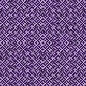 Purple and White Square Geometric Repeat Pattern Background — Stock Photo