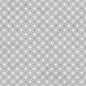 Gray and White Interlocking Circles Tiles Pattern Repeat Backgro — Stock Photo