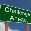 Challenge Ahead Sign — Stock Photo #59700623