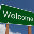 Welcome Sign — Stock Photo #59801663