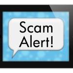 Scam Alert — Stock Photo #59899205