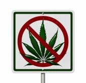 Driving Under the Influence of  Marijuana — Stock Photo