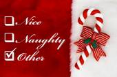 Naughty, Nice or Other — Stock Photo