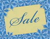 Winter Sale — Stock Photo