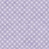 Purple and White Interlocking Circles Tiles Pattern Repeat Backg — Stock Photo