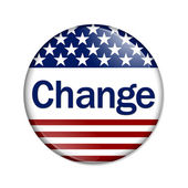 Change Button — Stock Photo