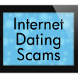 Internet Dating Scams — Stock Photo #61615843
