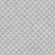 Gray and White Shells with Interlocking Circles Tiles Pattern Re — Stock Photo #61615909