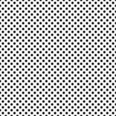 Black and White Small Polka Dots Pattern Repeat Background — Stock Photo