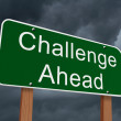 Challenge Ahead Sign — Stock Photo #62781711