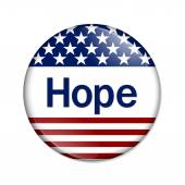 Hope Button — Stock Photo