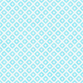 Teal and White Diagonal Squares Tiles Pattern Repeat Background — Stock Photo
