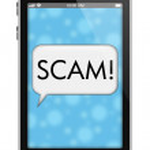 Scam Alert — Stock Photo #63070219