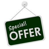 Special Offer Sign — Stock Photo
