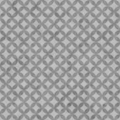 Gray Interconnected Circles Tiles Pattern Repeat Background — Stock Photo
