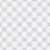 Purple and White Flower Repeat Pattern Background — Stock Photo