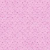 Pink Shell Tiles Pattern Repeat Background — Stock Photo