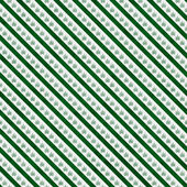 Green Marijuana Leaf and Stripes Pattern Repeat Background — Stock Photo