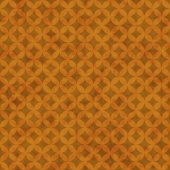 Orange Interconnected Circles Tiles Pattern Repeat Background — Stock Photo