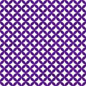 Purple and White Interconnected Circles Tiles Pattern Repeat Bac — Stock Photo