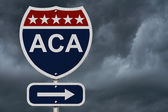 ACA Sign — Stock Photo