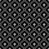 Black and White Celtic Cross Symbol Tile Pattern Repeat Backgrou — Stock Photo
