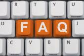 Getting the FAQs online — Stock Photo
