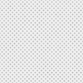 Light Gray and White Small Polka Dots Pattern Repeat Background — Stock Photo