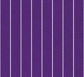 Purple and White Zigzag Textured Fabric Pattern Background — Stock Photo