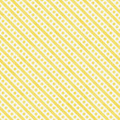 Light Yellow and White Small Polka Dots and Stripes Pattern Repe — Stock Photo