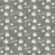 Gray and White Medical Marijuana Tile Pattern Repeat Background — Stock Photo #71424521