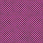 Dark Pink and White Small Polka Dots Pattern Repeat Background — Stock Photo