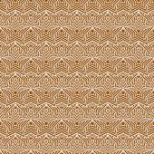 Orange and White Star Tiles Pattern Repeat Background — Stock Photo