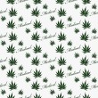 Green and White Medical Marijuana Tile Pattern Repeat Background — Stock Photo #74680487