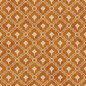 Orange and White Celtic Cross Symbol Tile Pattern Repeat Backgro — Stock Photo