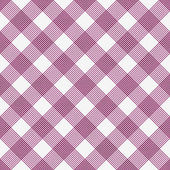 Pink and White Striped Gingham Tile Pattern Repeat Background — Stock Photo