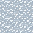 Blue and White I Love Writing Tile Pattern Repeat Background — Stock Photo #76370613