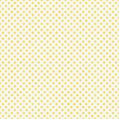 Light Yellow and White Small Polka Dots Pattern Repeat Backgroun — Stock Photo