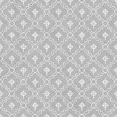 Gray and White Celtic Cross Symbol Tile Pattern Repeat Backgroun — Stock Photo