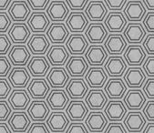 Gray Hexagon Tile Pattern Repeat Background — Stock Photo