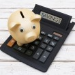 Calculating your Savings — Stock Photo #79689608