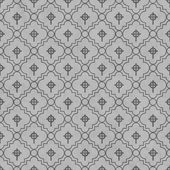 Gray Celtic Cross Symbol Tile Pattern Repeat Background — Stock Photo