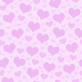 Pink Hearts Tile Pattern Repeat Background — Stock Photo