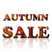 Autumn Sale — Stock Photo