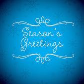 Merry Christmas card in vector format. — Stock Vector