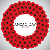 ANZAC (Australia New Zealand Army Corps) Day — Stock Vector