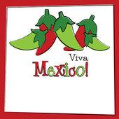 Hand Drawn Cinco de Mayo Chili Pepper in vector format. — Vettoriale Stock