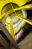 Yellow steel supports — Stock Photo